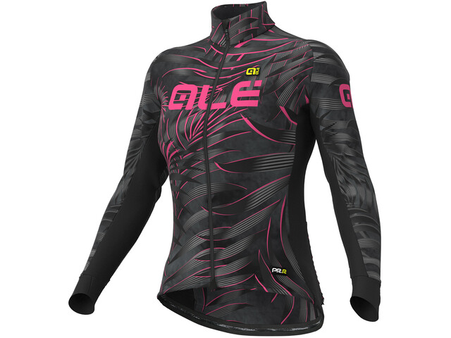 Alé Cycling Graphics PRR Sunset Maillot Mujer, black-fluo pink